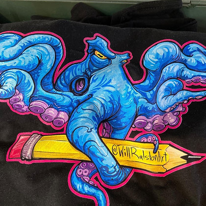 """Octo Pencil """"In Art We Trust"""""""