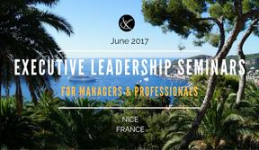 Press Release Exclusive Executive Leadership Seminar Frenchriviera