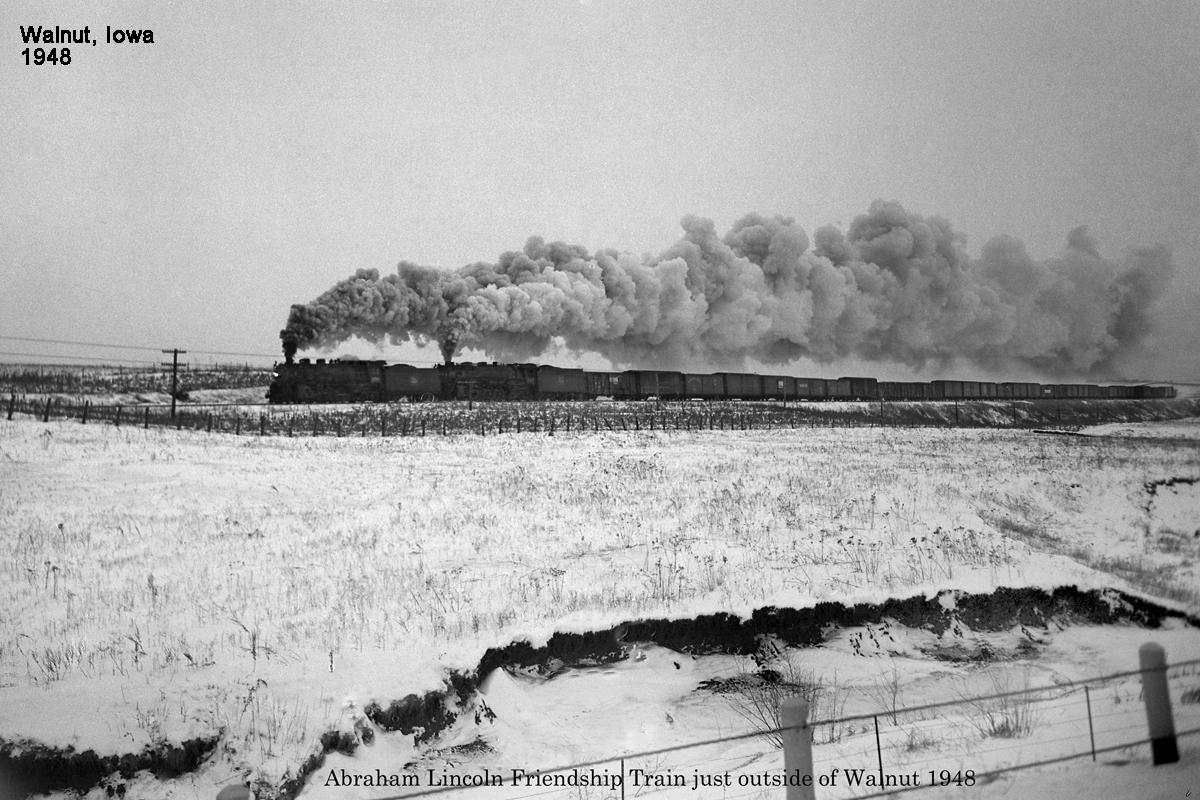 1948 Friendship train Abraham Lincoln