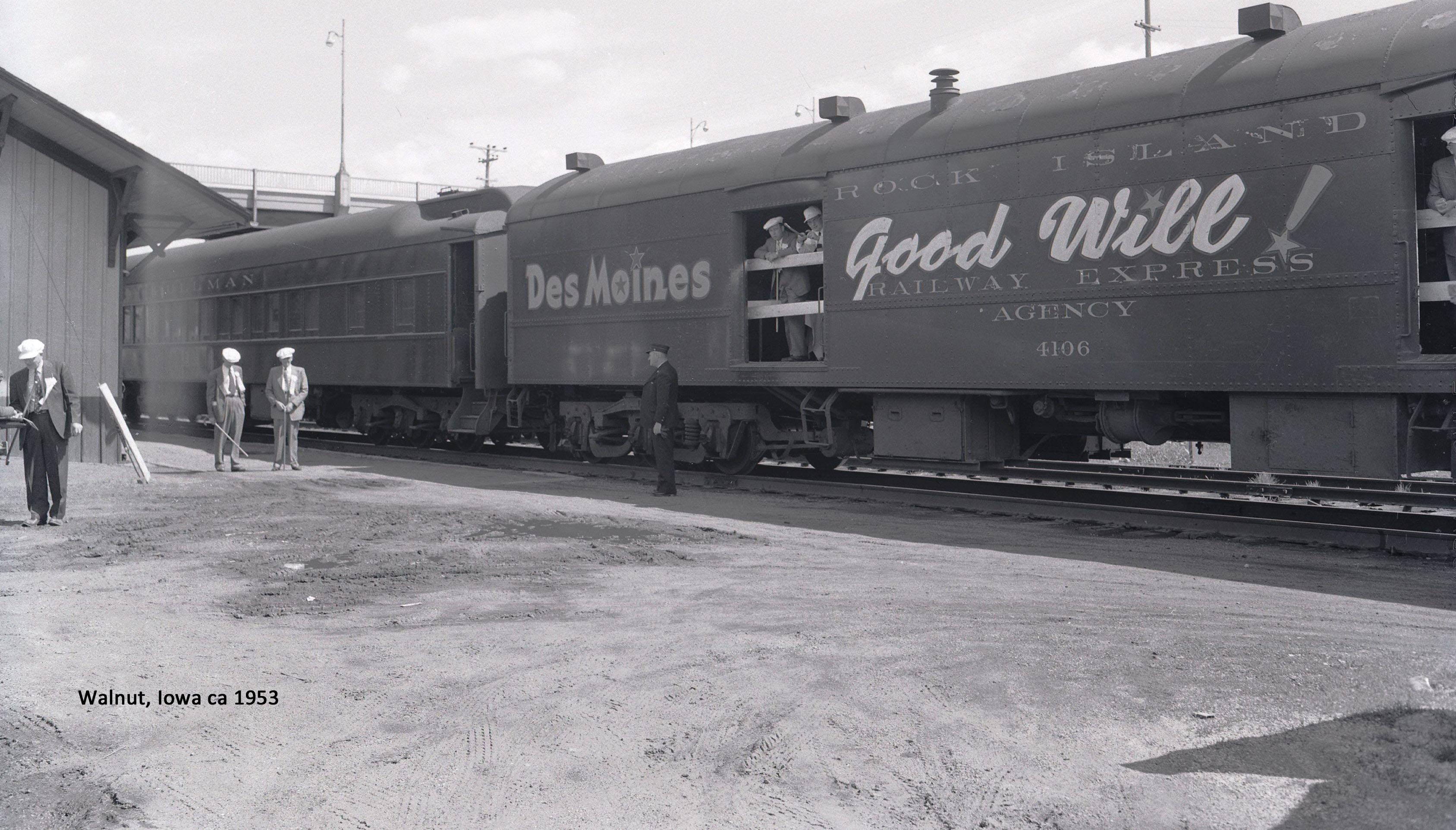 1953 Des Moines goodwill tour
