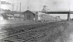 depot Sept 1953 last train for the mainline