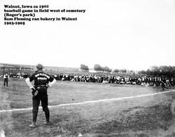1903 baseball game Roger's park