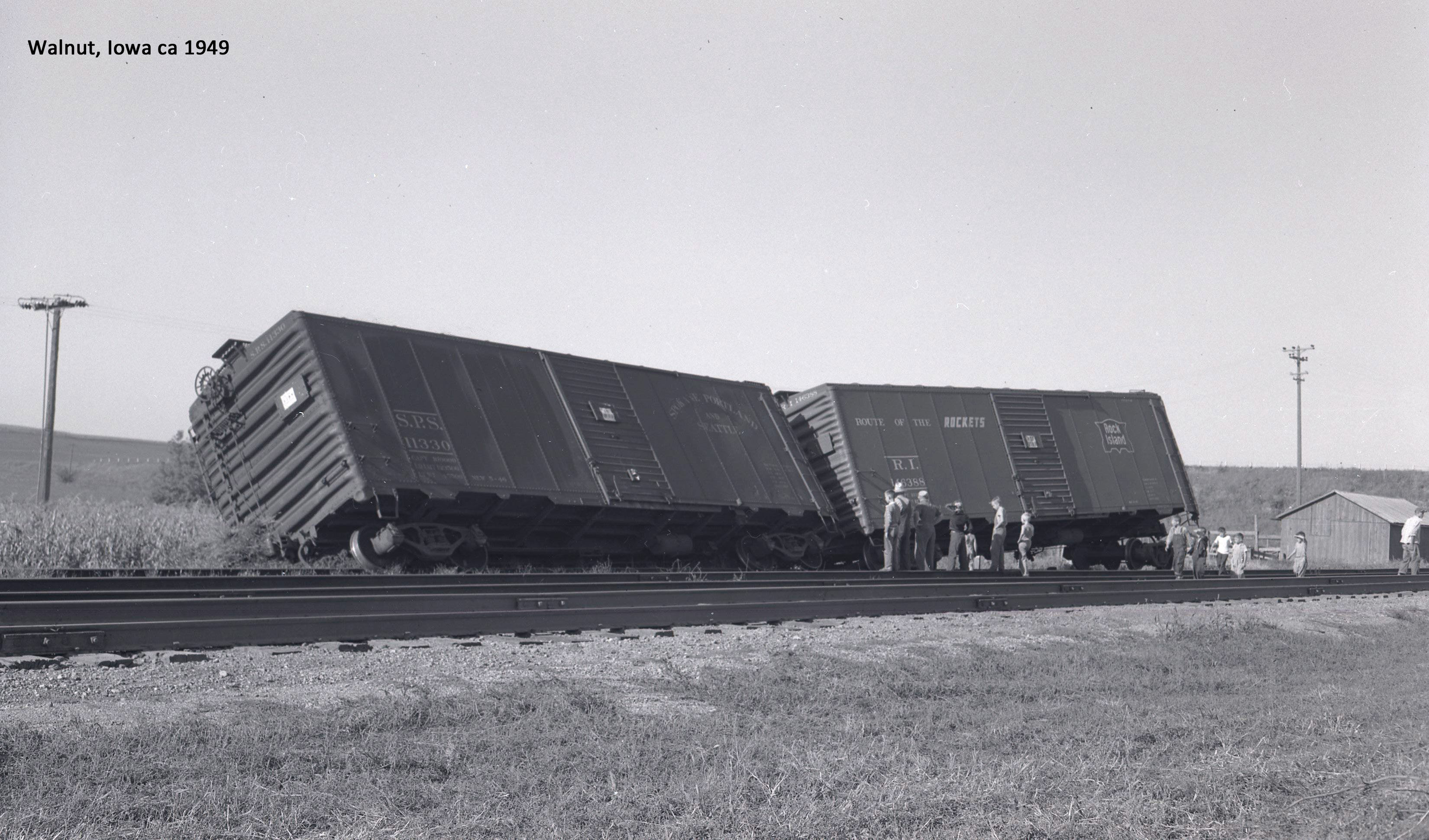 1949 Rock Island Freight Cars