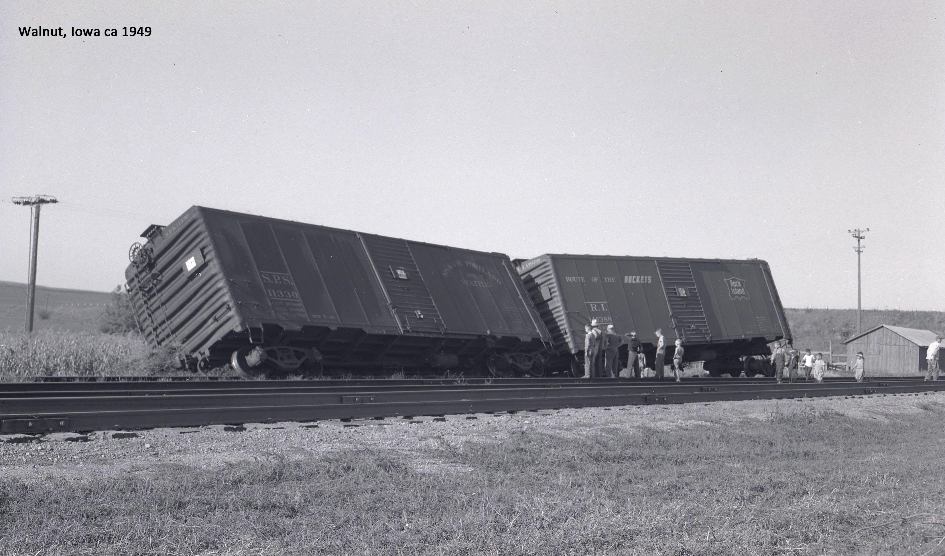 1949 Rock Island Freight Cars