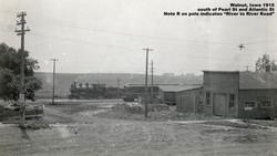 1915 train west of depot