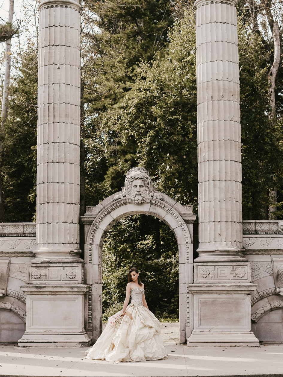 stone-arches-surround-modern-bride.jpg