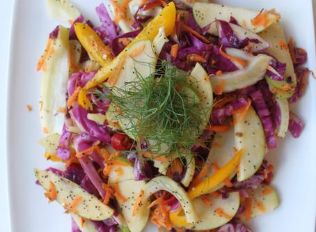 Crunchy Apple and Fennel Salad