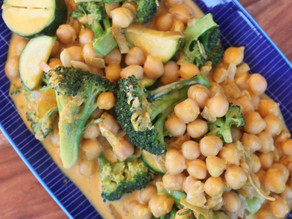 Chickpea & Coconut Curry
