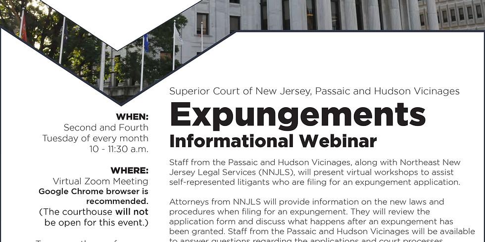 Expungements Informational Webinar