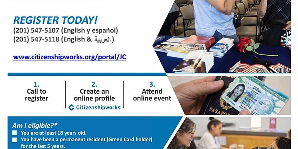Free Citizenship Workshop / Taller Gratuito de ciudadanía