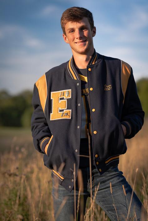 Owen Trumbull, EHS 2021 senior
