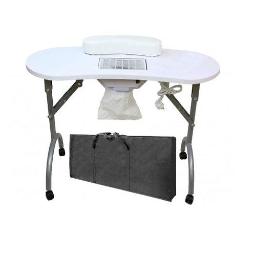 Tavolino estetista con aspiratore portatile
