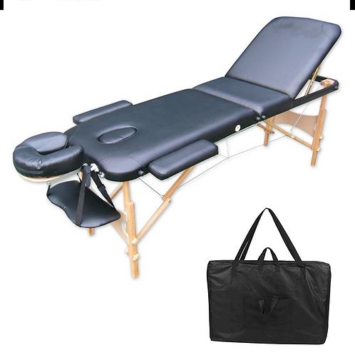 Lettino da Massaggio legno 3 zone - cm 195 x 70 - vari colori