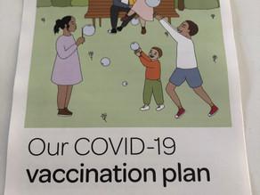 ワクチン接種が進んでいます