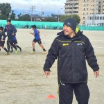 滋賀県草津市主催のイベントでラグビー教室