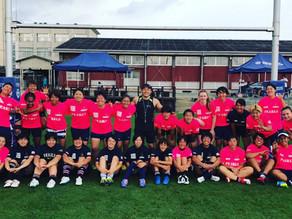 三重県女子セブンス・パールズでスポットコーチング