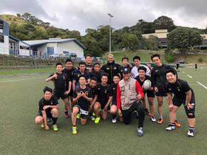 2019年春休み中学高校ラグビー留学 フォトギャラリー