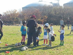 堺ラグビースクールでスポットコーチを務めました