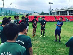 奈良スクール選抜でスポットコーチング
