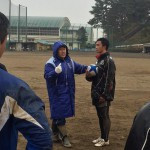 仙台高専ラグビー部でスポットコーチング