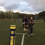 三重県高校代表のスポットコーチング
