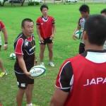U20日本代表のスポットコーチを務めました