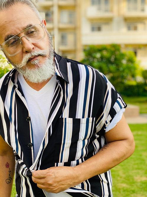 DM - Zebra Striped Shirt