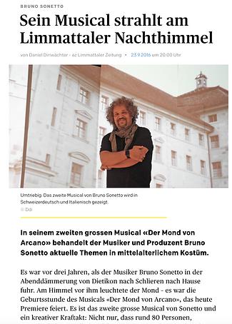 Tosanelli Records Zeitung