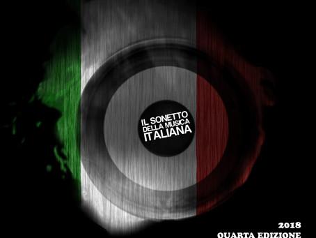 """Siamo lieti di annunciare l'uscita del Album """" Il Sonetto della Musica Italiana - Quarta Edizione"""""""