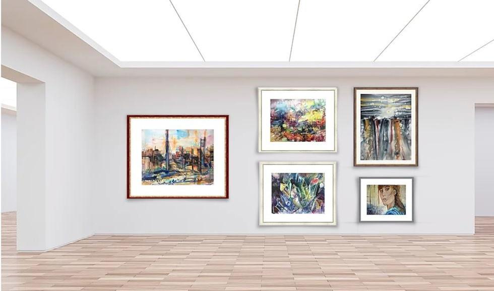 Kunstaustellung Dieter Wystemp