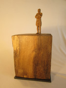 Am Strand 2013 - Skulptur - Holz