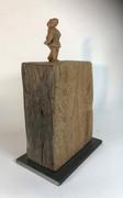Spaziergängerin 2013 - Skulptur - Holz