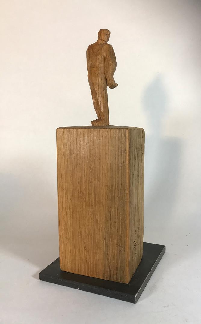Rückblickend 2011 - Skultur - Holz
