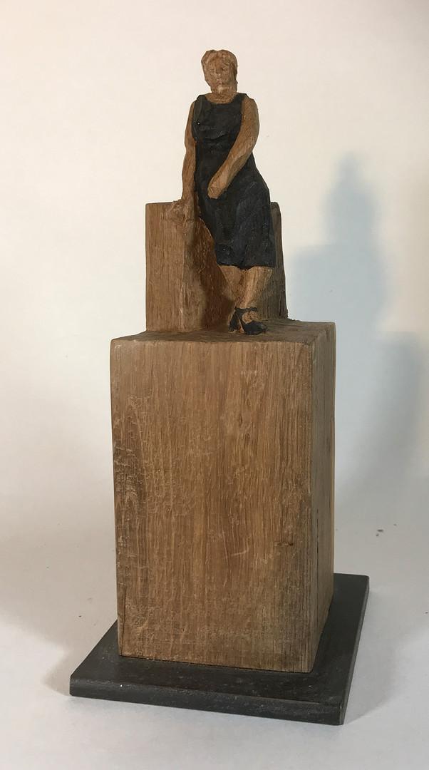 Dressed in Black 2013 - Skulptur - Holz