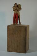 Paar 2018 - Skulptur - Holz