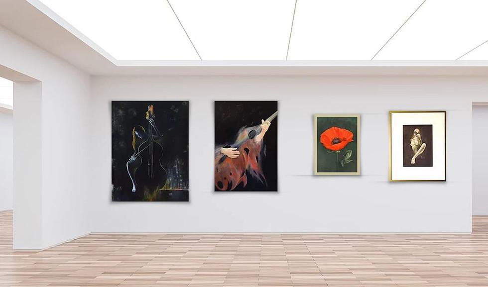 Kunstausstellung Erich Kovar