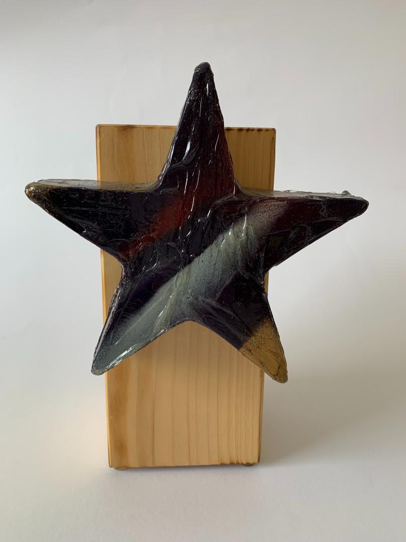 Skulptur - Frozen Star - Silverstripe