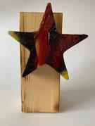 Skulptur - Frozen Star - Redfire