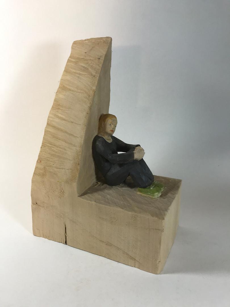 In Gedanken 2019 - Skulptur - Holz