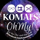 Round 3 inch KOM sticker.png