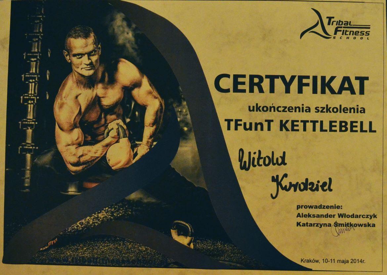 Certyfikat Kettlebell