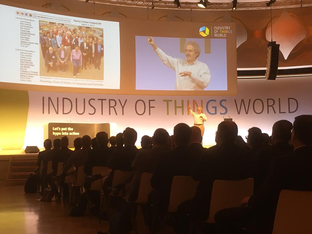 IIoT diskuterades i Berlin