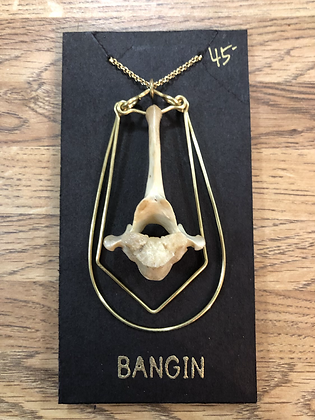 vertebrae necklace