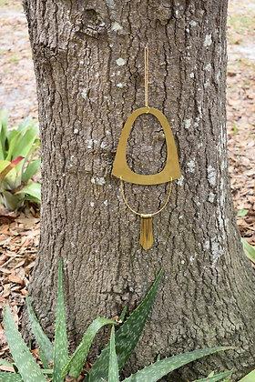 brass wall hanging