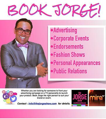 Book Jorge!