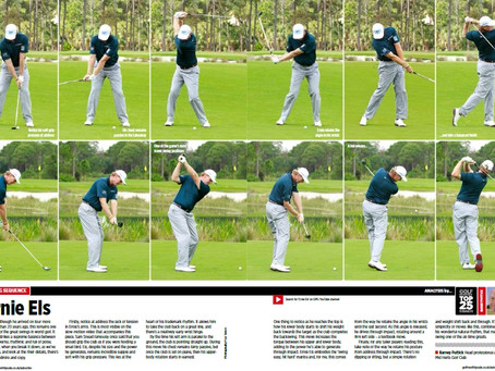 Ernie Els's Swing Sequence