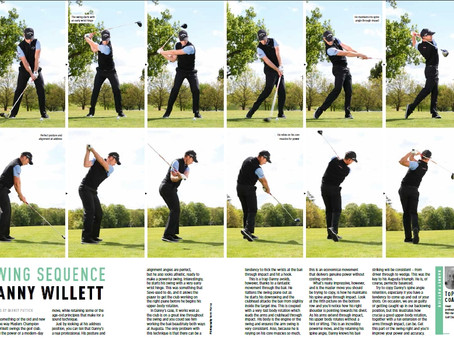 Danny Willett's Swing Sequence