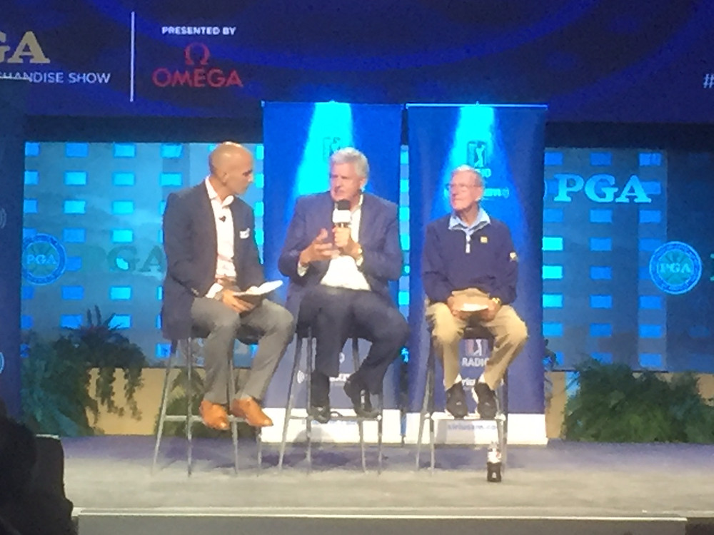 Colin Montgomerie at PGA Show