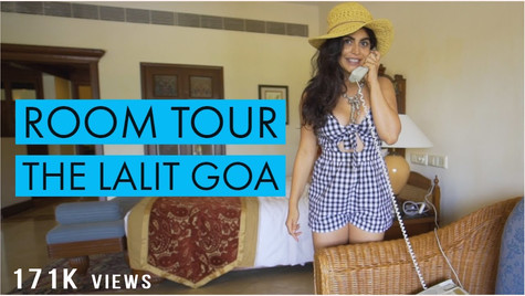 What would you do in a room like this? | The Lalit Goa