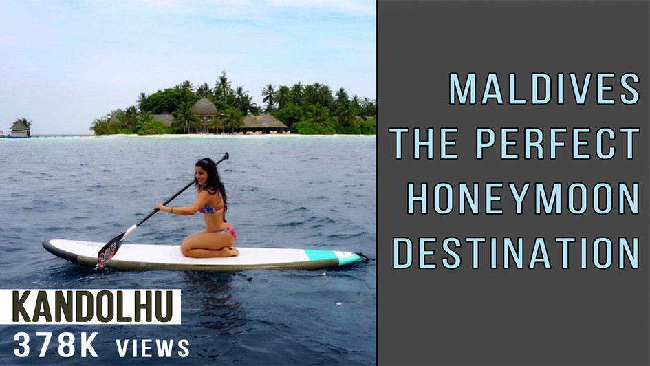 Maldives the perfect honeymoon destination